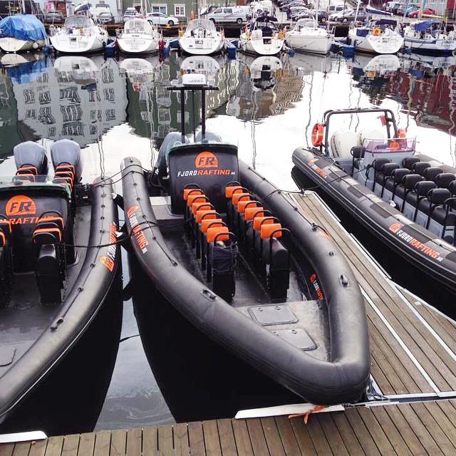 Flåten vår. #rib #rhib #revenger #fjordrafting #havraft