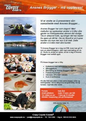 Flyer Ansnes Brygger 2015